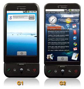 Наследником T-Mobile G1 будет G2