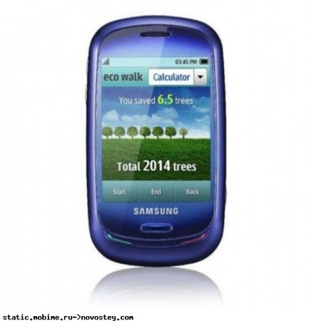 MWC 2009: Samsung Blue Earth: солнечный, сенсорный, экологичный