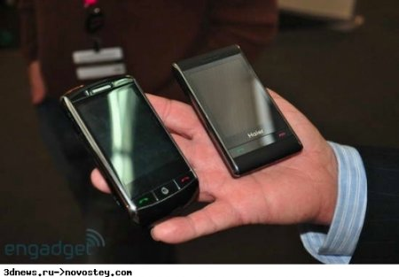 MWC 2009: Haier продемонстрировала два «гуглофона»