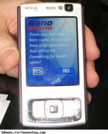 Nokia N95 находит болезни