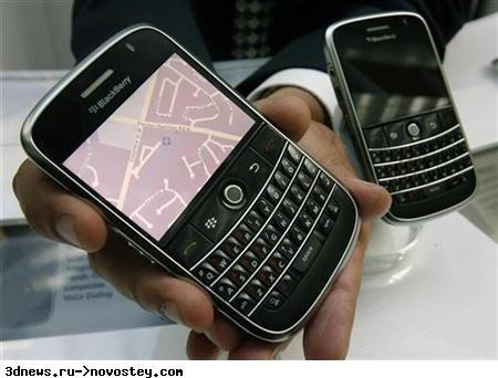 BlackBerry Bold и проблемы с перегревом
