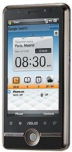 ASUS P835: новый WM-коммуникатор с WVGA-экраном