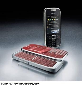 Nokia в России: стоимость E75, новые сервисы