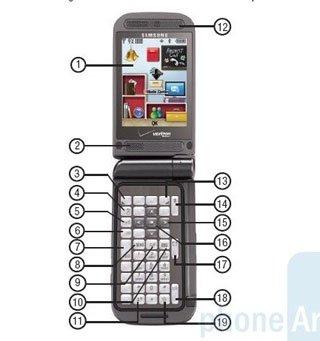 Первый фотоснимок телефона Samsung U750 (Alias2)