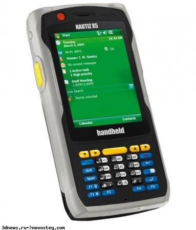 CeBit 2009: коммуникатор Nautiz X5 – «крепкий орешек» от Handheld