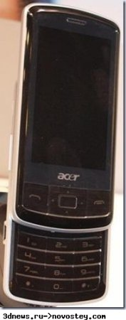 Acer выпустит смартфон на Windows Mobile 6.5 за 50 евро