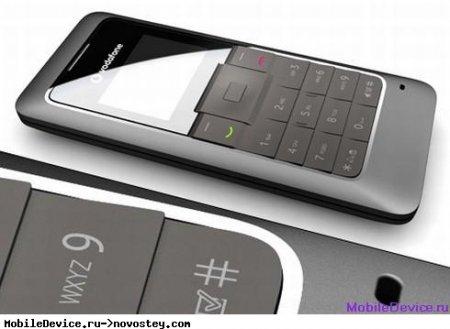 Концепт телефона Vodafone 135 для развивающихся рынков