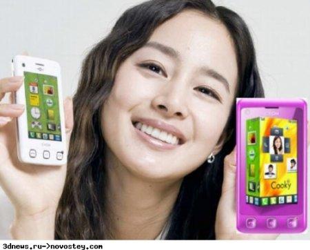 LG Cooky – доступный тачфон с интерфейсом 3D S-Class