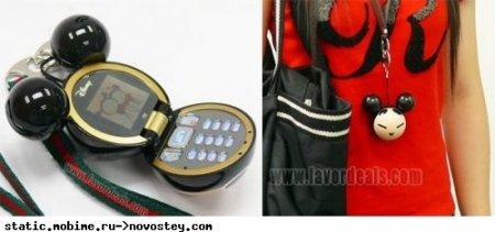 Mickey Mouse phone – трехмерный телефон в форме Микки Мауса