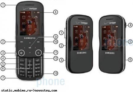 «Шпионские» фото Samsung Trance