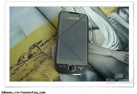 Первые детали о сенсорных Samsung S8000 и B7300