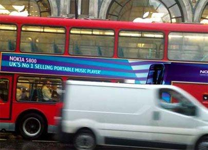 Nokia 5800 XpressMusic стал бестселлером в Великобритании