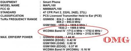 Смартфон HTC S522 (Maple) получил одобрение FCC