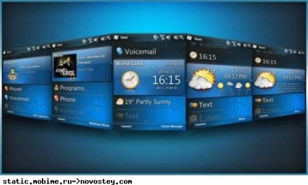WM7 Titanium: новая тема для Windows Mobile 6.5