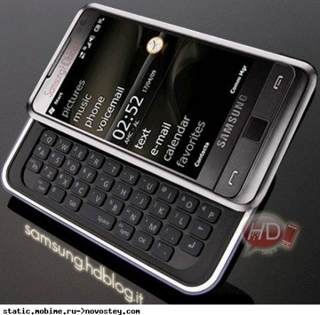 Samsung Omnia Pro с полноценной QWERTY-клавиатурой