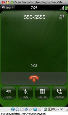 Галерея скриншотов Palm Pre webOS