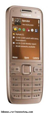 Nokia E52 — до 29 дней автономной работы