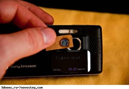 Макро-объектив для телефона из старого DVD-привода