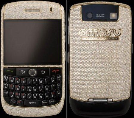 Amosu представила самый дорогой в мире смартфон Blackberry стоимостью $200000