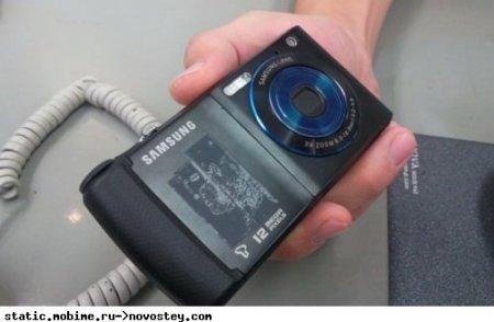 Samsung продемонстрировала в Корее 12-мп камерофон