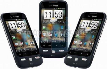 HTC Droid Eris – официальные и «живые» фото, новые подробности