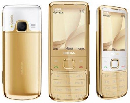 """Стильная """"золотая"""" Nokia 6700 Classic"""