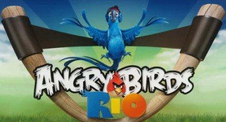 Angry Birds Rio для Symbian^3