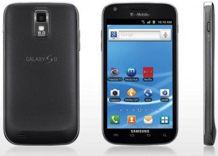 Sprint обновляет Samsung Galaxy S II