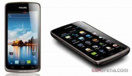 Philips анонсировал W832, Xenium на Android с двумя сим-картами