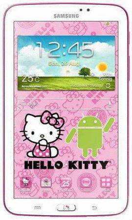 Samsung выпустит планшет Galaxy Tab 3 с Hello Kitty