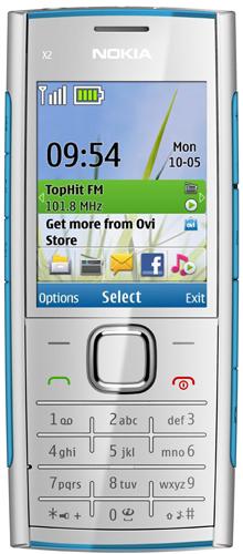 Новый музыкальный телефон от Nokia - Nokia X2