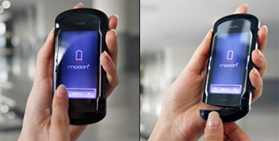 Концепт телефона с интегрированной Bluetooth-гарнитурой