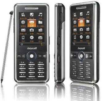 Анонсирован телефон Samsung Anycall L258