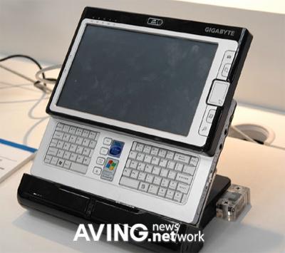 Компания GIGABYTE продемонстрировала UMPC M704