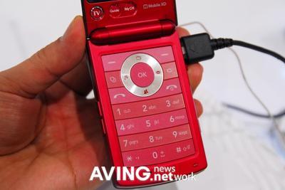 LG анонсировала телефон LG KB620 с мобильным ТВ
