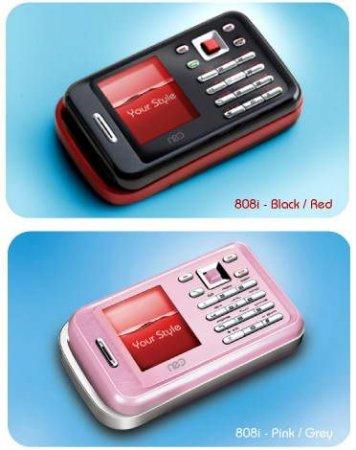 Представлен сверхкомпактный телефон Neo 808i