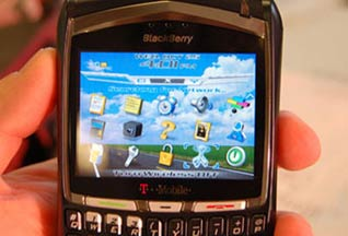 Research In Motion готовит сенсорный Blackberry