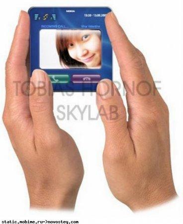 Чудо-концепт Nokia 7000 Pocket