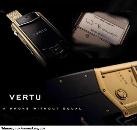 Vertu Signature S Design: элитная роскошь с Wi-Fi для 3G