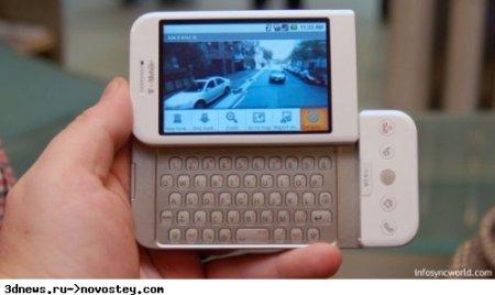 Первые впечатления от смартфона T-Mobile G1 и ОС Android