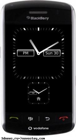 Скриншоты с сенсорного BlackBerry 9500