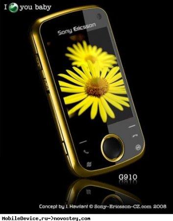 Концепт телефона Sony Ericsson G910