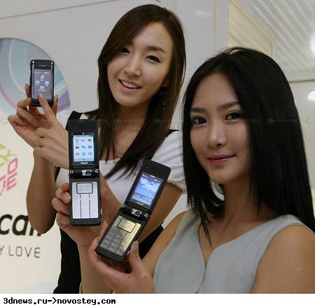Первые телефоны с двухсторонним дисплеем Samsung