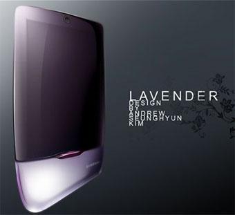 Samsung Lavender — концепт гламурного телефона