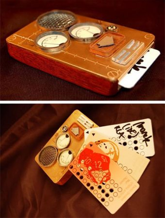 "Steampunk phone – концепт ""парового"" телефона"