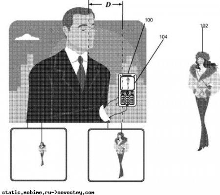 Зуммирование движением: патент от Sony Ericsson