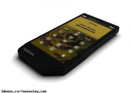 Nokia Liquid Phone: телефон с жидким экраном