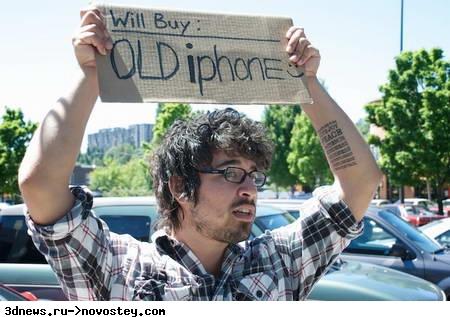 Бывшие в употребление iPhone 3G на прилавках Best Buy