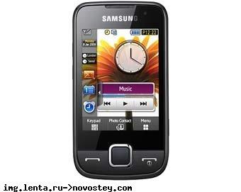 Samsung анонсировал бюджетные мобильники с сенсорным экраном
