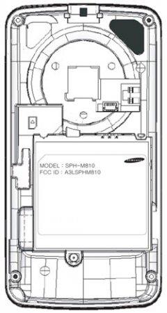 Samsung M810 (Instinct Mini) получил одобрение FCC